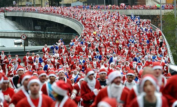 Corsa di Babbo Natale 8