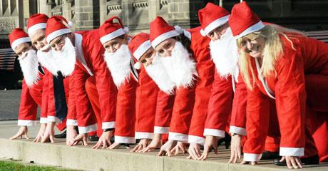 Corsa di Babbo Natale 9