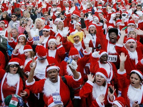 Corsa di Babbo Natale 3