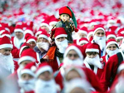 Corsa di Babbo Natale 6