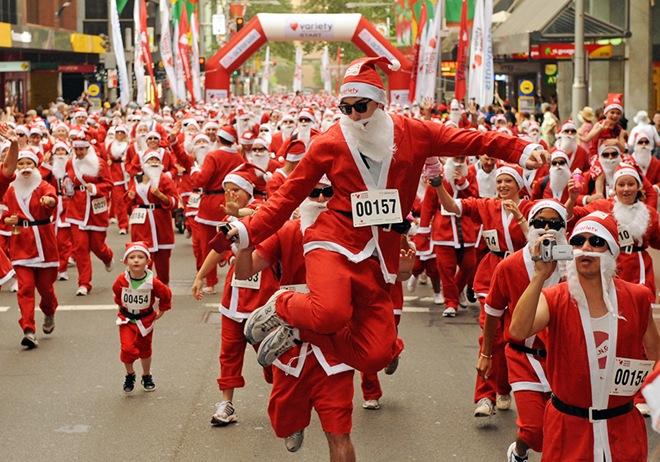 Corsa di Babbo Natale 7