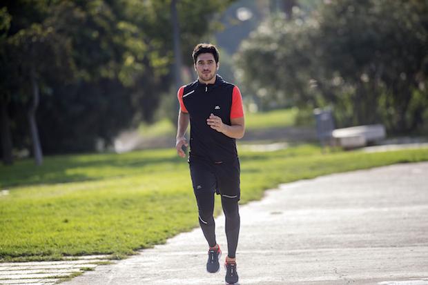 jogging aria aperta