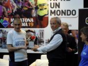 Andrea Costa alla Maratona di Roma 2013