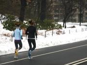 Corsa in inverno