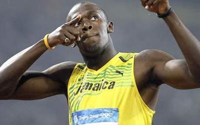 Bolt Recordman sui 100m