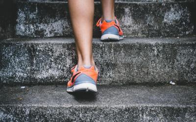 Corsa sulle scale