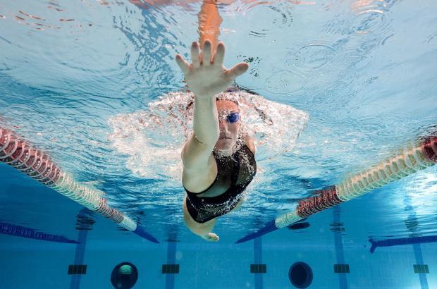 allenamento di nuoto
