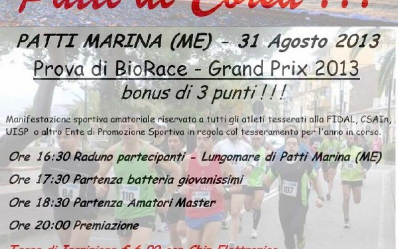 Gara podistica: Patti di Corsa 2013