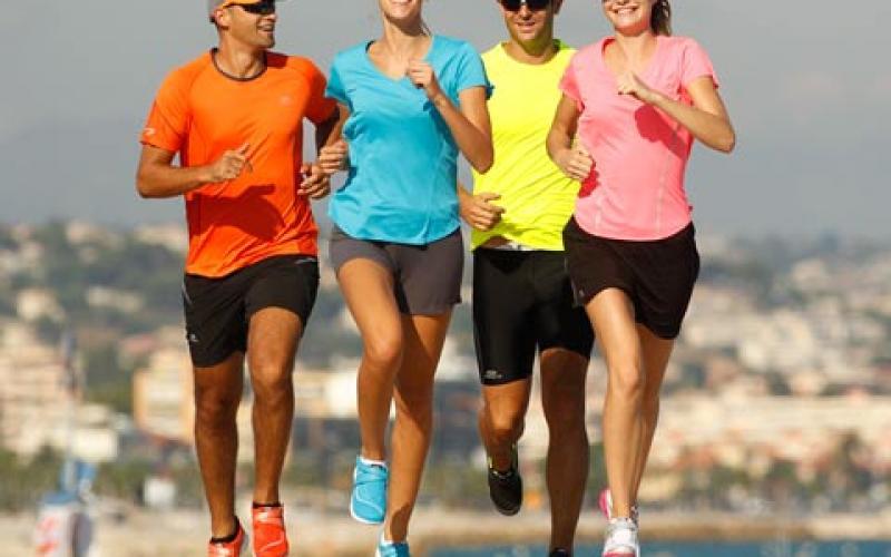 L'abbigliamento giusto per correre con le alte temperature