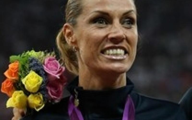 Annalisa Minetti sul podio alle Paralimpiadi di Londra 2012