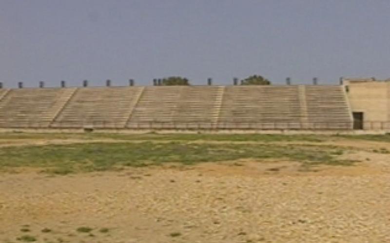 Le attuali condizioni del campo sportivo Villaseta ad Agrigento