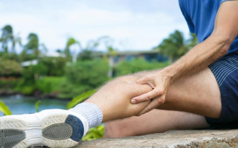 I crampi ai polpacci sono un problema frequente per i runners