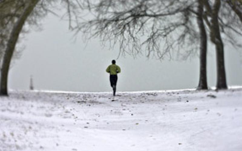 Allenarsi alla corsa in inverno protetti dal freddo