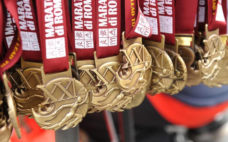 Medaglia Maratona di Roma 2019