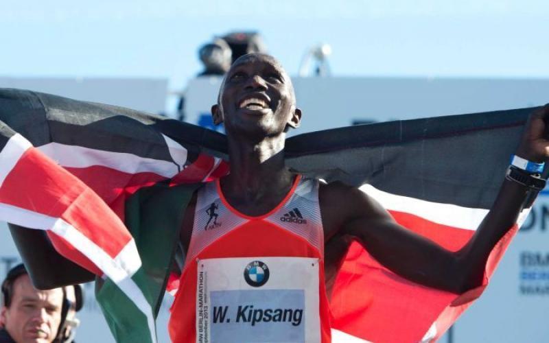 Wilson Kipsang, record mondiale maratona di Berlino 2013