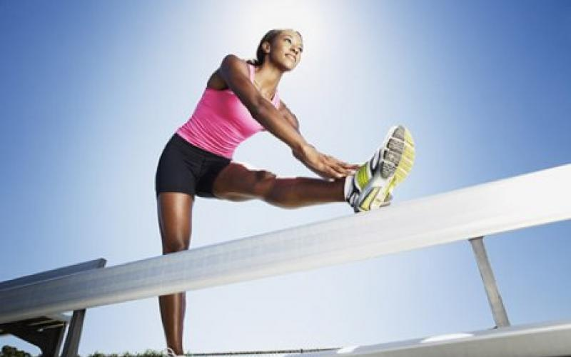 stretching allungare gambe
