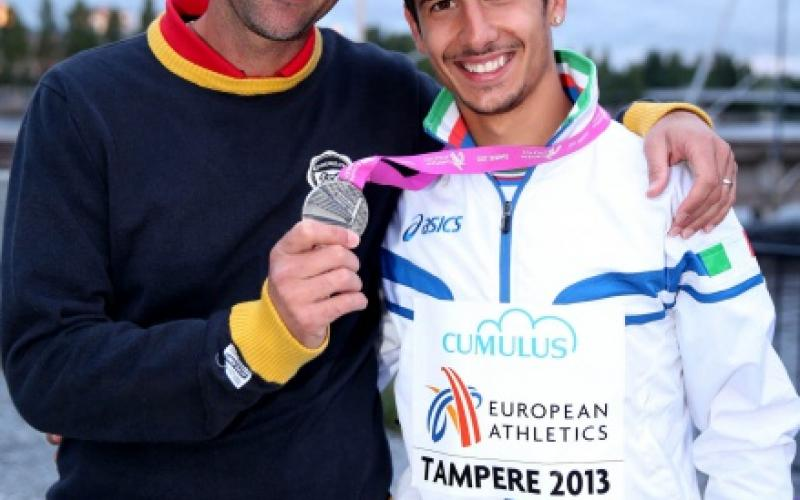 Salvatore Pisana e Giuseppe Gerratana, argento nei 3000m siepi agli Europei 2013 u23